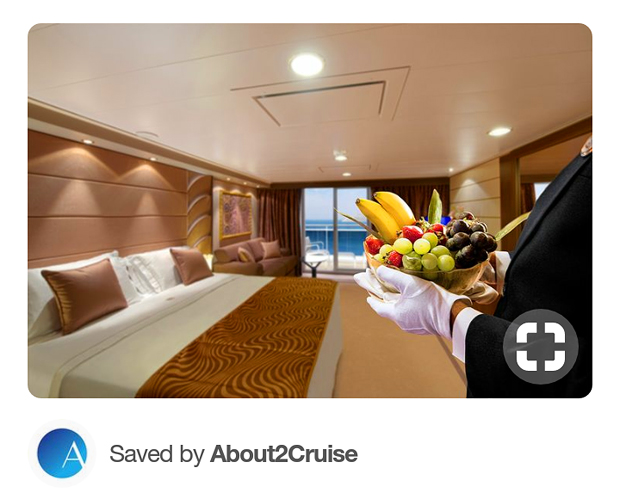 Pinterest Marketing - Cruise Travel - Breakfast in Bed