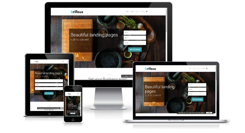 Brilleus.com - Web Design Project