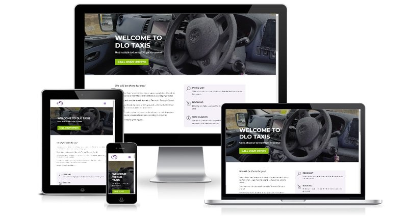 DLO Taxis - Web Design Project