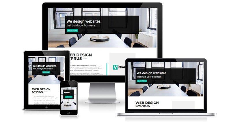 Virtualeap Web Design Cyprus - Web Design Project