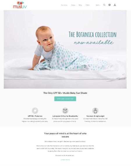 Musluv Shopify Web Design